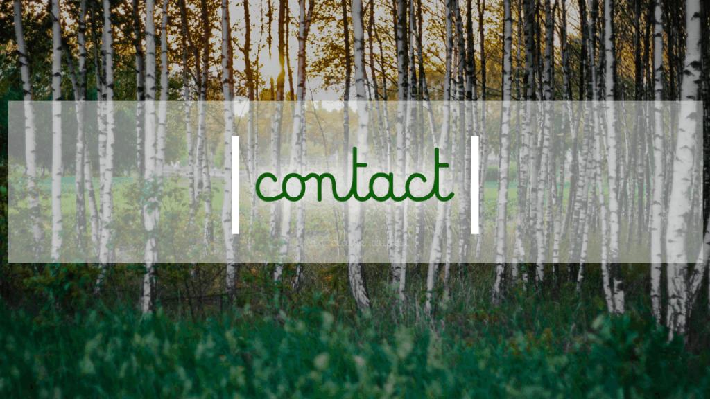 Adresse Formulaire de contact Téléphone